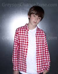 Greyson Chance Wearing Red