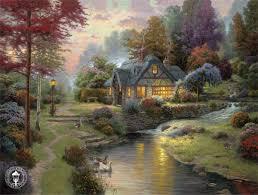 kinkade cottage