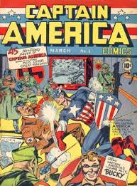 captain america comic 1