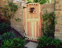 rustic garden gates