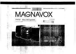 magnavox stereo