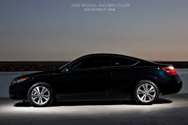 2008 honda accord coupe black