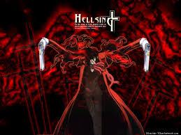 Anime Alucard-Hellsing-black-red