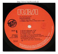 david bowie record