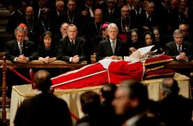 pope john paul funeral