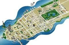 nyc tourism map