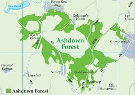 ashdown forest map