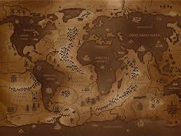 wallpaper map