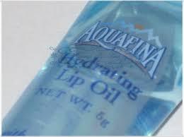 aquafina hydrating lip oil
