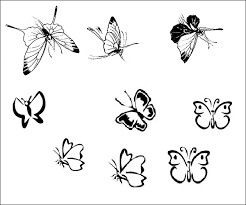 tatuaze motyle
