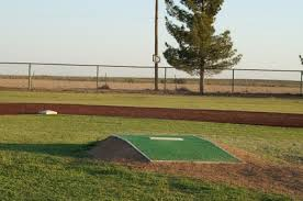 homemade pitching mound