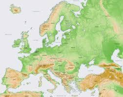 map of european mountain ranges
