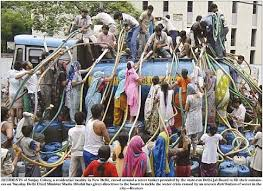 india water shortages