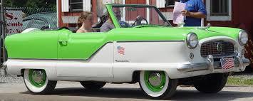 nash metropolitan convertible