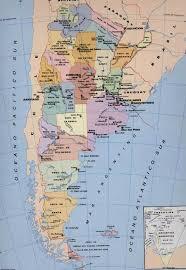 mapa geografico de argentina