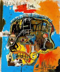 jean michel basquiat skull