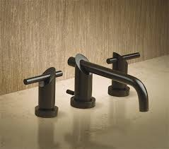 bronze bathroom