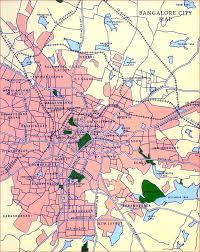 banglore map
