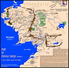 map middle earth