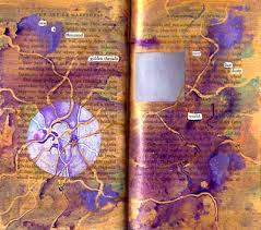 altered book art