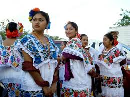 mexican costume woman