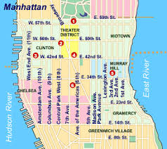 detailed map of nyc