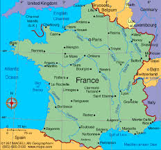 france driving maps