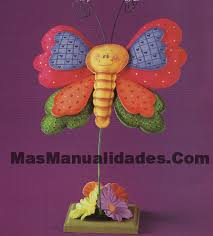 adornos de mariposa