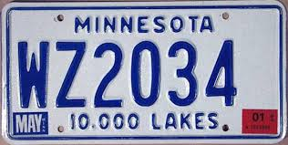 dui license plate