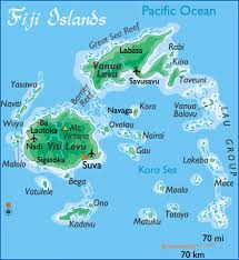 fiji islands maps