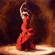 flamenco dance painting