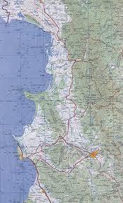 durres albania map