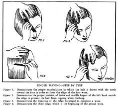 how to make finger waves