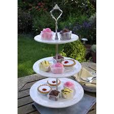 three tiered cake stand