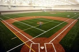 indoor baseball fields