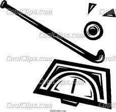 field hockey sticks clip art