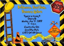 construction invitation