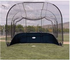 indoor baseball cages