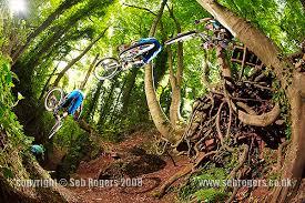 mountain biking photography