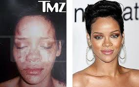 rihanna get punched