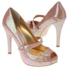 pink rhinestone shoes