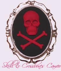 hot pink skull