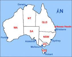 noosa australia map