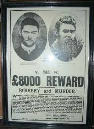 ned kelly wanted posters