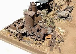 model railroad diorama