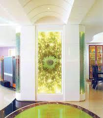 glass wall decoration