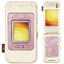 nokia 7390 pink