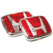 red honda emblem