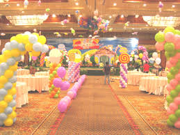 candy land party decorations