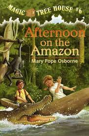 magic tree house afternoon on the amazon